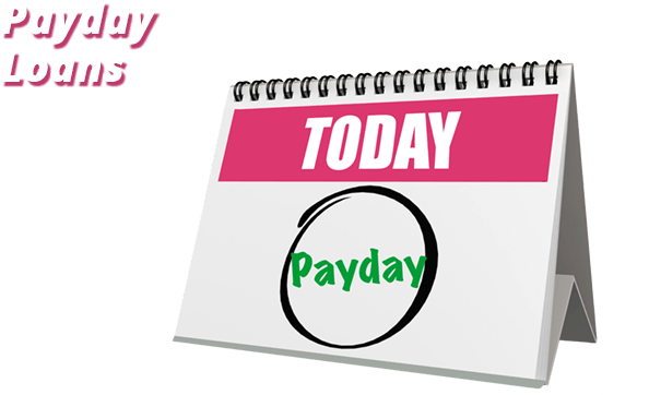 calendar with today payday loans