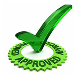 instant approval checkmark